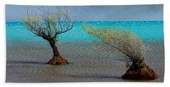Peculiar Trees Beach Towel