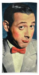 Pee-wee Herman Beach Towel
