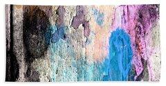 Peeling Paint Beach Sheet by Jessica Wright