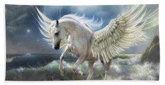 Pegasus Rising Beach Towel