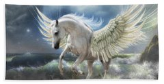 Pegasus Rising Beach Towel