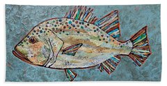 Peggy The Perch Beach Towel