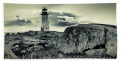 Peggys Cove Lighthouse Beach Sheet