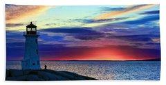 Peggy's Cove Lighthouse Beach Sheet