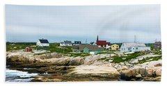Peggy's Cove Shoreline Beach Towel