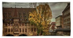 Pegnitz, Nuremberg, Germany Beach Towel