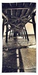 Peir View  Beach Towel by Christy Ricafrente