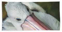 Pelican Brief   Go6 Beach Towel