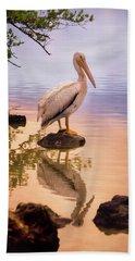 Pelican Connection 2 Beach Towel