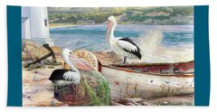 Pelican Cove Beach Towel