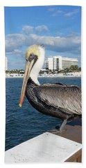 Pelican -florida Beach Towel