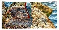 Pelican II Beach Towel