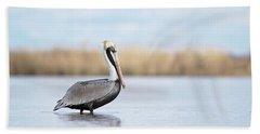 Pelican In Paradise Beach Sheet