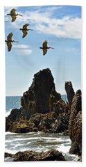 Pelican Inspiration Beach Sheet