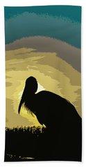 Pelican Paint Beach Towel