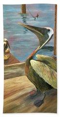 Pelican Pride Beach Towel