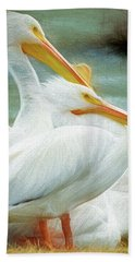 Pelican Three Beach Towel