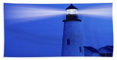 Pemaquid Lighthouse Beach Towel