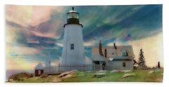 Pemaquid Lighthouse,maine Beach Towel