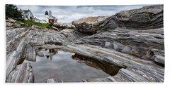 Pemaquid Point Lighthouse Beach Sheet