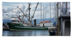 Pender Isle At French Creek Beach Towel by Randy Hall