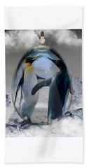 Penguin Art Beach Towel