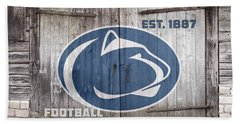Penn State Football // Old Barn Doors Beach Towel