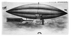 Penningtons Airship, 1850 Beach Towel