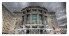 Pennsylvania Judicial Center Beach Sheet by Shelley Neff