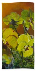 Pennys Up Close Revisited Beach Towel by LaVonne Hand