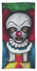 Pennywise Beach Towel by Abril Andrade Griffith