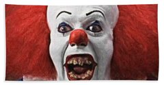Pennywise The Clown Beach Towel