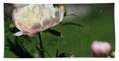 Beach Towel featuring the photograph Peony Beauty by Rick Morgan