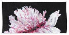 Peony Bloom Beach Towel by Betty-Anne McDonald
