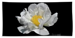 Beach Towel featuring the photograph Peony June by Diane E Berry