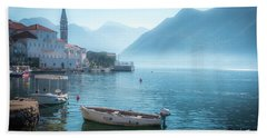 Perast Montenegro Beach Sheet