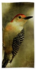 Perched And Ready - Weathered Beach Towel