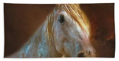 Percheron  Beach Towel