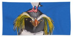 Percy The Penguin Beach Towel