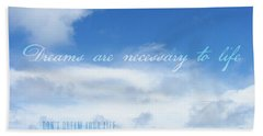 Perfect Day Quote Beach Towel
