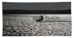 Beach Sheet featuring the photograph Perfect Light At Lake Wollumboola by Miroslava Jurcik