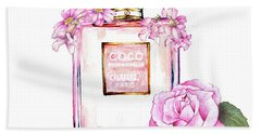 Perfume Florals Beach Sheet