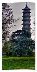 Pergoda Kew Gardens Beach Sheet