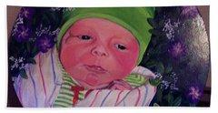 Periwinkle Baby Boy Beach Towel
