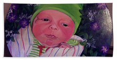 Periwinkle Baby Boy Beach Sheet