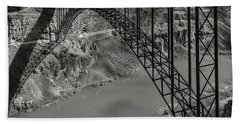 Perrine Bridge, Twin Falls, Idaho Beach Towel