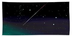 Perseid Meteor Shower  Beach Sheet
