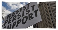 Persist Resist Support Beach Towel