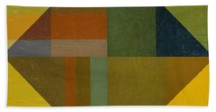 Perspective In Color Collage 8 Beach Towel