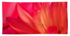 Petal Abstract Beach Towel